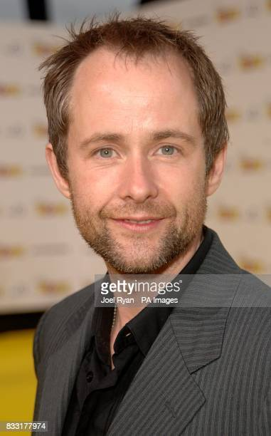 Billy Boyd arrives for the UK Premiere of The Simpsons Movie at the Vue Cinema The O2 Peninsula Square London