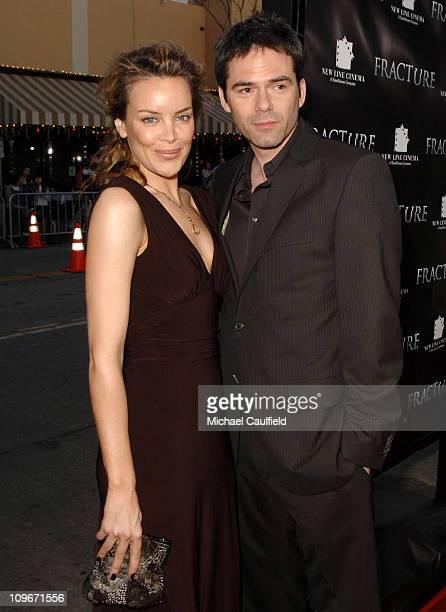 Billy Burke and Colleen Porch during 'Fracture' Los Angeles Premiere Red Carpet at The Mann Village Theatre in Westwood California United States