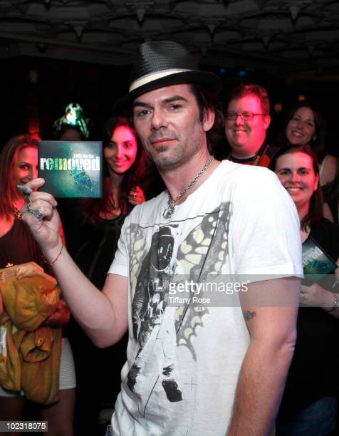 Billy Burke attends the Billy Burke Album Release Party at House of Blues Sunset Strip on June 22 2010 in West Hollywood California