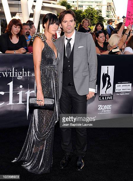 Billy Burke attends 'The Twilight Saga Eclipse' Los Angeles Premiere at Nokia Theatre LA Live on June 24 2010 in Los Angeles California