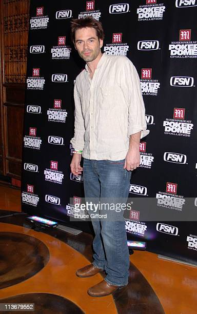 Billy Burke during Mansionpokernet Hosts The 'Poker Dome Challenge' Launch Party May 25 2006 at Tao Nightclub in Las Vegas Nevada United States