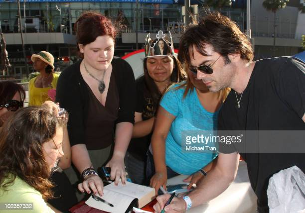 Billy Burke with his fans at the 'Eclipse' fan frenzy held at Nokia Plaza LA LIVE on June 23 2010 in Los Angeles California
