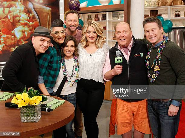 THE CHEW Billy Bush and Kit Hoover are the guests today Tuesday February 9 2016 on ABC's 'The Chew' 'The Chew' airs MONDAY FRIDAY on the ABC...