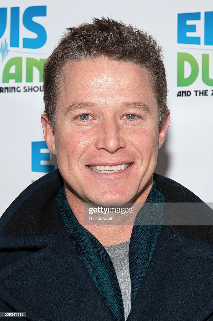 <a gi-track='captionPersonalityLinkClicked' href=/galleries/search?phrase=Billy+Bush&family=editorial&specificpeople=742677 ng-click='$event.stopPropagation()'>Billy Bush</a> visits 'The Elvis Duran Z100 Morning Show' at Z100 Studio on February 10, 2016 in New York City.