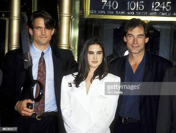 Billy Campbell Jennifer Connelly and Timothy Dalton