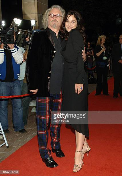 Billy Connolly and CarrieAnne Moss during 31st Annual Toronto International Film Festival 'Fido' Premiere at Roy Thompson Hall in Toronto Ontario...