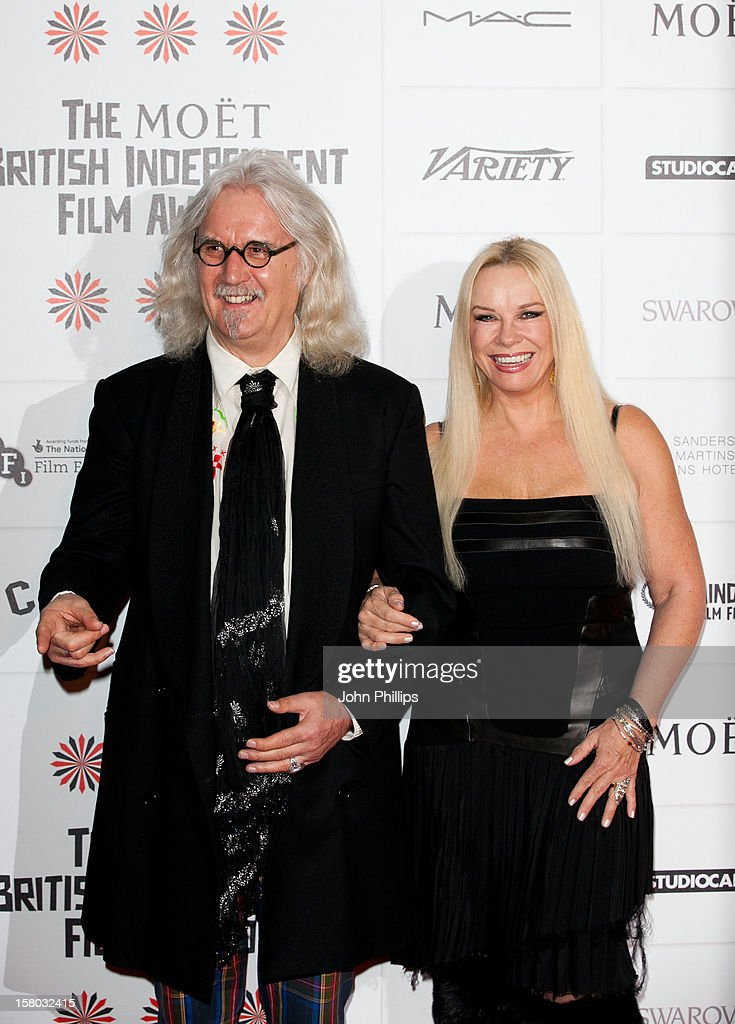 <a gi-track='captionPersonalityLinkClicked' href=/galleries/search?phrase=Billy+Connolly&family=editorial&specificpeople=208248 ng-click='$event.stopPropagation()'>Billy Connolly</a> and his wife <a gi-track='captionPersonalityLinkClicked' href=/galleries/search?phrase=Pamela+Stephenson&family=editorial&specificpeople=881019 ng-click='$event.stopPropagation()'>Pamela Stephenson</a> attend the British Independent Film Awards at Old Billingsgate Market on December 9, 2012 in London, England.