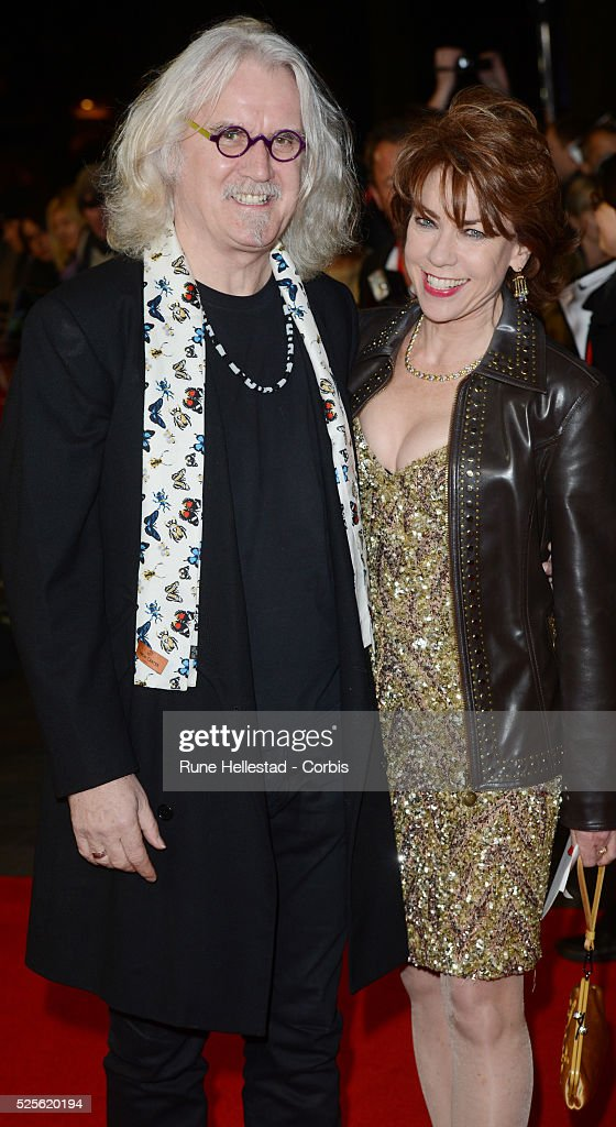 Billy Connolly and Kathy Lette attend the premiere of Quartet at The BFI London Film Festival at Odeon Leicester Square