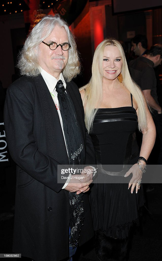 Billy Connolly and Pamela Stevenson attends the British Independent Film Awards at Old Billingsgate in London on December 9, 2012 in London, England.