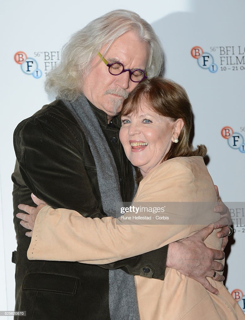 Billy Connolly and Pauline Collins attend a photo call for Quartet at The BFI London Film Festival at Empire Leicester Square