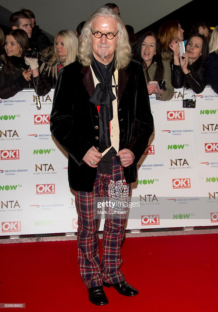 Billy Connolly attends the 21st National Television Awards at The O2 Arena on January 20, 2016 in London, England.