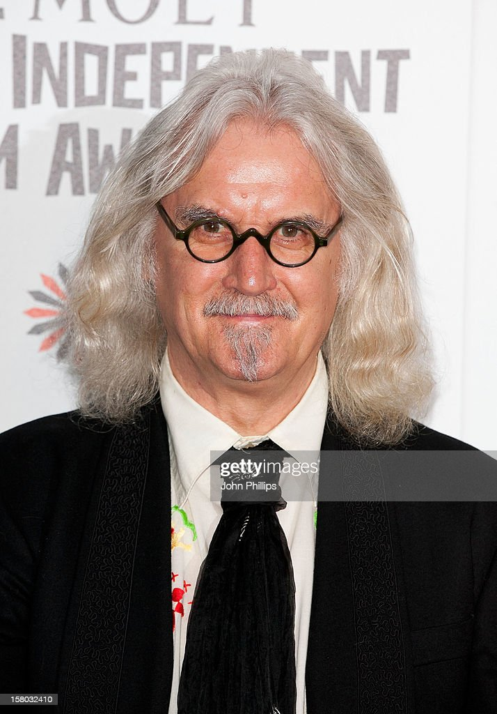 <a gi-track='captionPersonalityLinkClicked' href=/galleries/search?phrase=Billy+Connolly&family=editorial&specificpeople=208248 ng-click='$event.stopPropagation()'>Billy Connolly</a> attends the British Independent Film Awards at Old Billingsgate Market on December 9, 2012 in London, England.