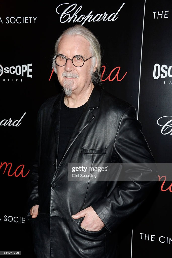 Billy Connolly attends The Cinema Society and Chopard Host a Screening of Oscilloscope's 'ma ma' at Landmark Sunshine Theatre on May 24, 2016 in New York City.