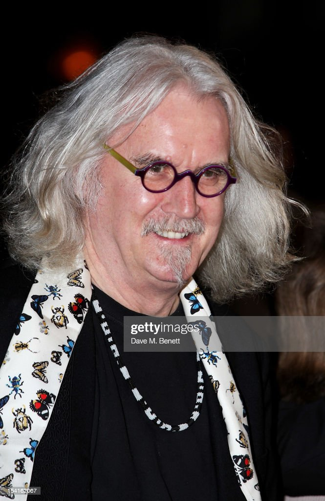 <a gi-track='captionPersonalityLinkClicked' href=/galleries/search?phrase=Billy+Connolly&family=editorial&specificpeople=208248 ng-click='$event.stopPropagation()'>Billy Connolly</a> attends the Premiere of 'Quartet' during the 56th BFI London Film Festival at Odeon Leicester Square on October 15, 2012 in London, England.