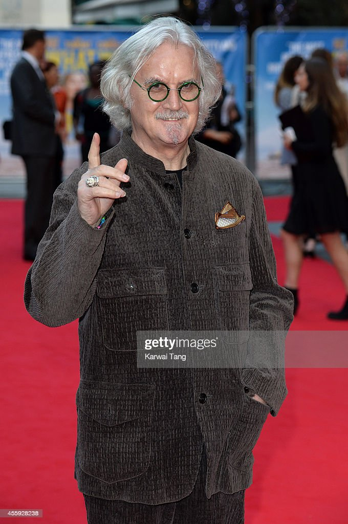 <a gi-track='captionPersonalityLinkClicked' href=/galleries/search?phrase=Billy+Connolly&family=editorial&specificpeople=208248 ng-click='$event.stopPropagation()'>Billy Connolly</a> attends the World Premiere of 'What We Did On Our Holiday' at Odeon West End on September 22, 2014 in London, England.