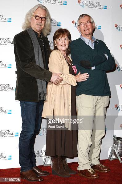 Billy Connolly Pauline Collins and Tom Courtney attend the Photocall for 'Quartet' at the BFI London Film Festival at Empire Leicester Square on...