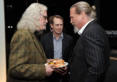 Billy Connolly Steve Buschemi and Jeff Bridges attend the Bank Of America And Food Wine With The Cinema Society Screening Of 'A Place At The Table'...