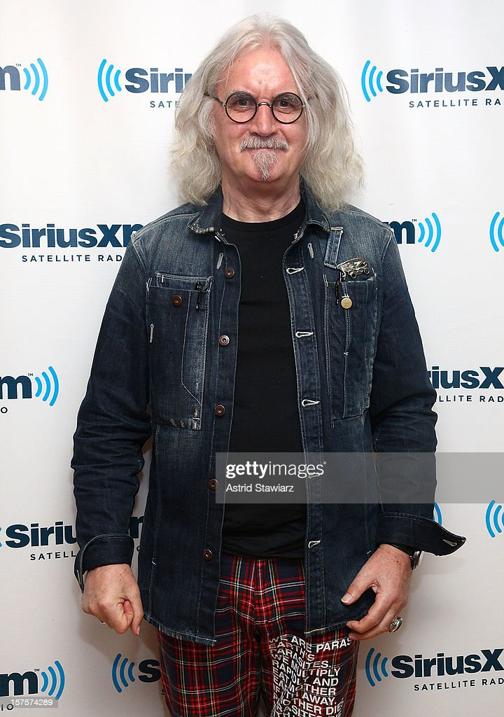 Billy Connolly visits the SiriusXM Studios on December 4, 2012 in New York City.