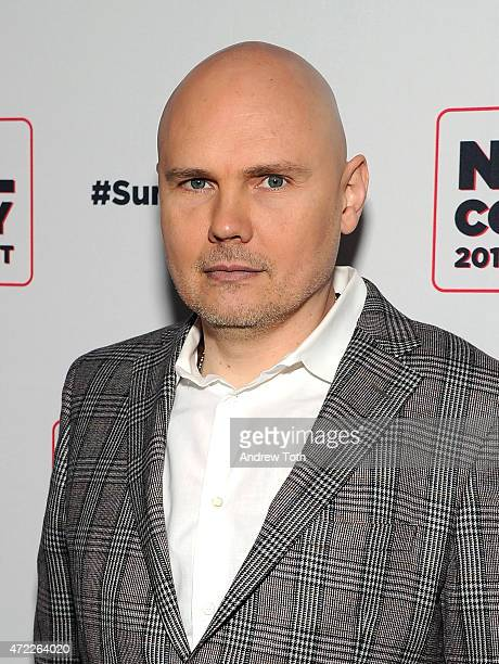 Billy Corgan attends the 2015 Summer Spotlight Concert at Irving Plaza on May 5 2015 in New York City