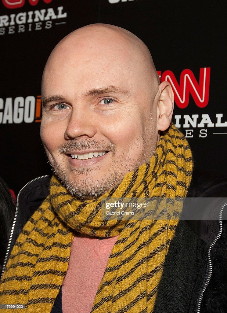 <a gi-track='captionPersonalityLinkClicked' href=/galleries/search?phrase=Billy+Corgan&family=editorial&specificpeople=210832 ng-click='$event.stopPropagation()'>Billy Corgan</a> attends the 'Chicagoland' series premiere at Bank of America Theater on March 4, 2014 in Chicago, Illinois.
