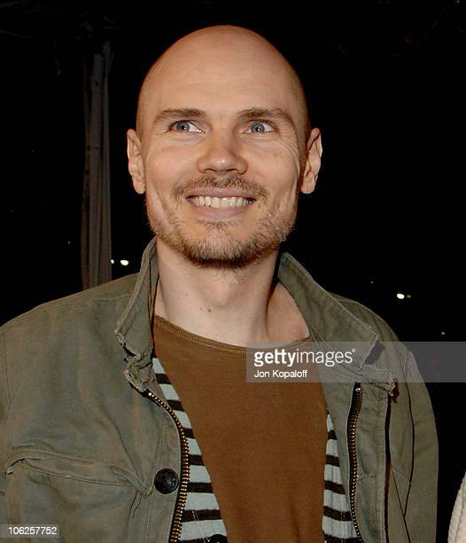 Billy Corgan during 'Freedom Writers' Los Angeles Premiere Arrivals at Mann Village Theater in Westwood California United States