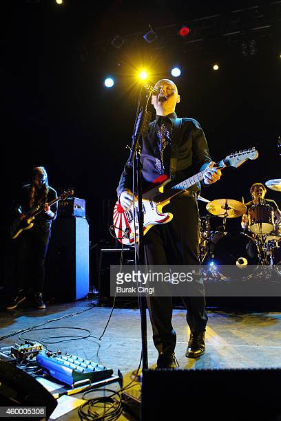 Billy Corgan of the Smashing Pumpkins performs on stage at KOKO on December 5 2014 in London United Kingdom