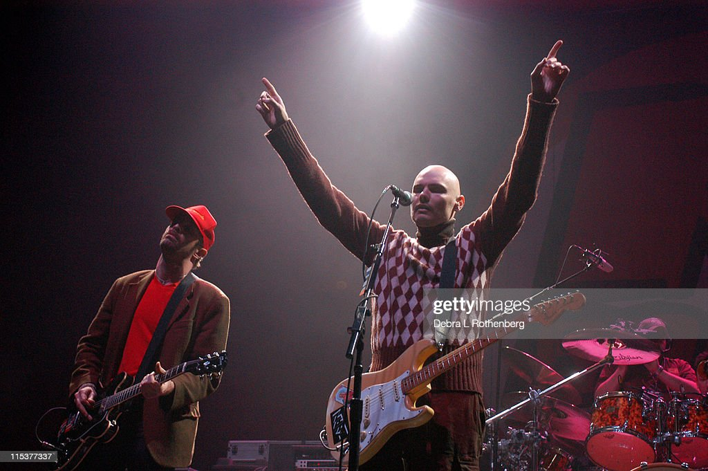 Billy Corgan with Zwan during K Rock Klaus Fest at Nassau Coliseum in Long Island, NY, United States.