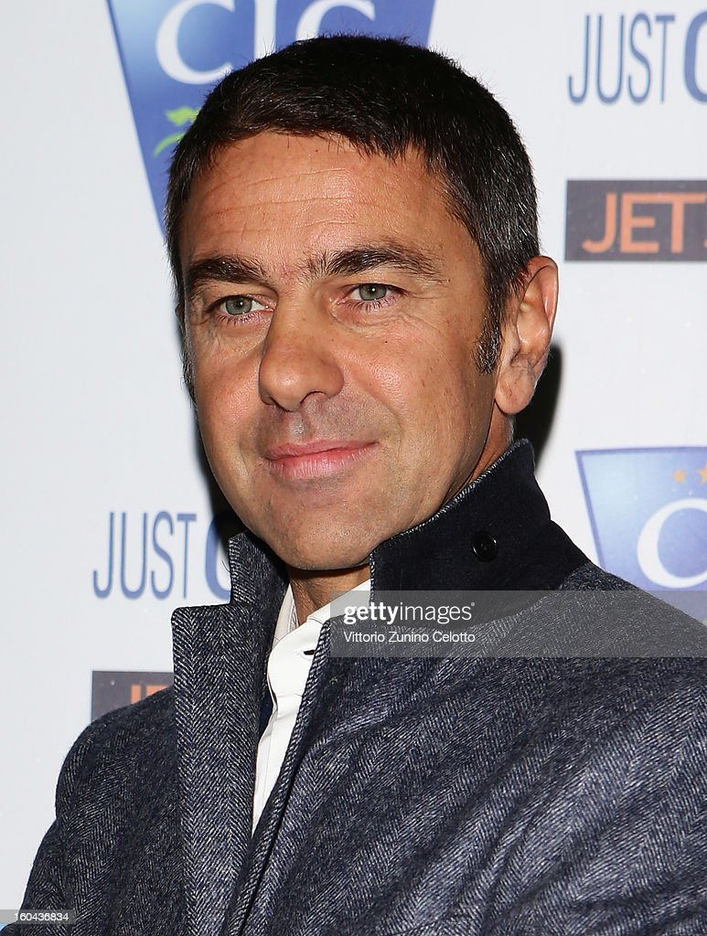 Billy Costacurta attends C.I.C. Champions' International Camps photocall at Just Cavalli Cafe on January 31, 2013 in Milan, Italy.