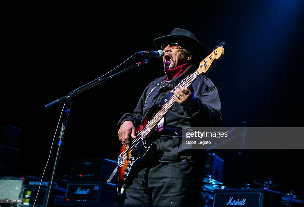 Billy Cox performs during the Experience Hendrix 2014 Tour at The Fox Theatre on April 3, 2014 in Detroit, Michigan.