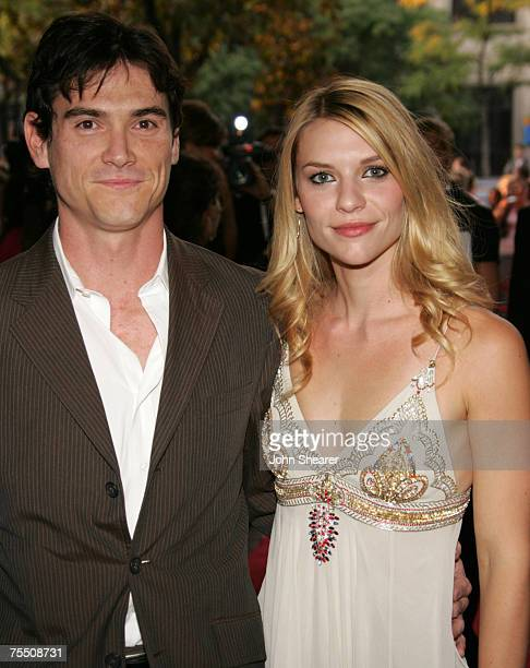 Billy Crudup and Claire Danes at the 43 Gerrard St East in Toronto Canada
