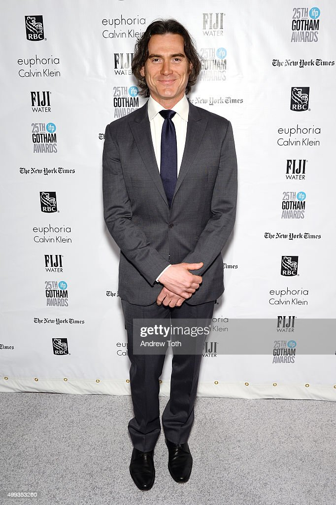 <a gi-track='captionPersonalityLinkClicked' href=/galleries/search?phrase=Billy+Crudup&family=editorial&specificpeople=204698 ng-click='$event.stopPropagation()'>Billy Crudup</a> attends the 25th annual Gotham Independent Film Awards at Cipriani Wall Street on November 30, 2015 in New York City.