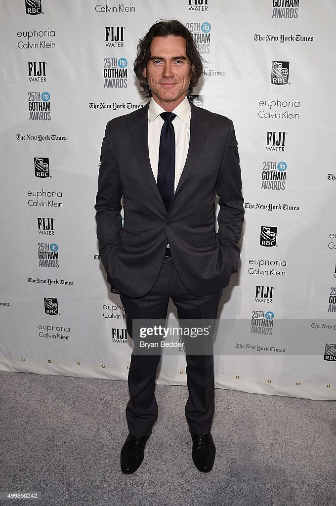 <a gi-track='captionPersonalityLinkClicked' href=/galleries/search?phrase=Billy+Crudup&family=editorial&specificpeople=204698 ng-click='$event.stopPropagation()'>Billy Crudup</a> attends the 25th IFP Gotham Independent Film Awards co-sponsored by FIJI Water on November 30, 2015 in New York City.