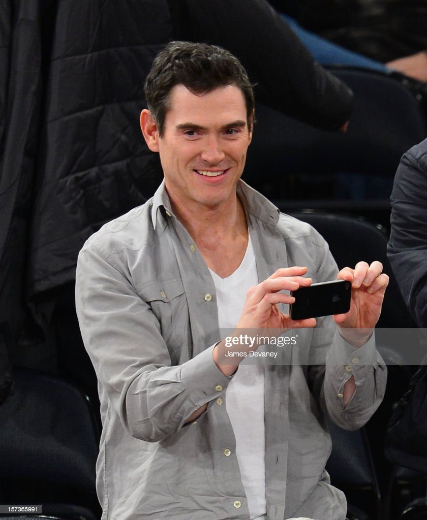 Billy Crudup attends the Phoenix Suns vs New York Knicks game at Madison Square Garden on December 2, 2012 in New York City.