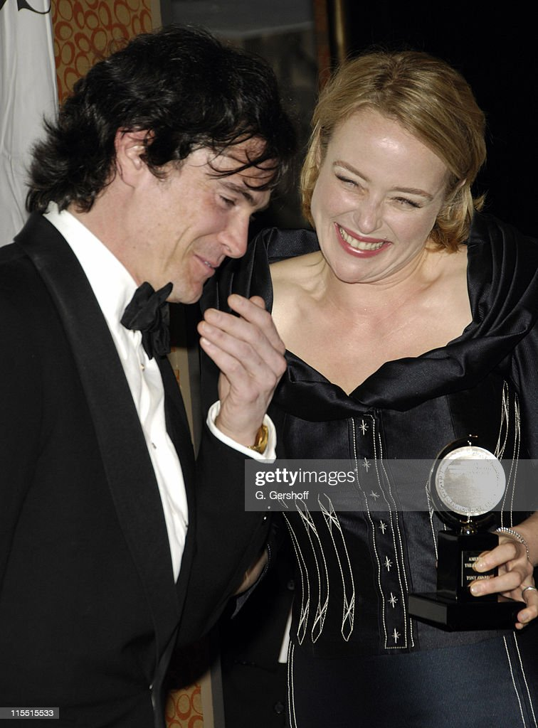 Billy Crudup, winner Featured Actor (Play) for 'The Coast of Utopia,' and Jennifer Ehle, winner Featured Actress (Play) for 'The Coast of Utopia'