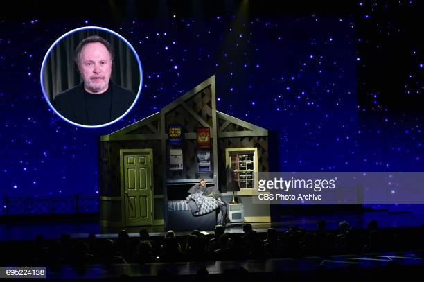 Billy Crystal and Kevin Spacey at THE 71st ANNUAL TONY AWARDS broadcast live from Radio City Music Hall in New York City on Sunday June 11 2017 on...