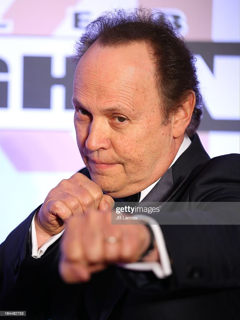 <a gi-track='captionPersonalityLinkClicked' href=/galleries/search?phrase=Billy+Crystal&family=editorial&specificpeople=202497 ng-click='$event.stopPropagation()'>Billy Crystal</a> attends the Muhammad Ali's Celebrity Fight Night XIX held at JW Marriott Desert Ridge Resort & Spa on March 23, 2013 in Phoenix, Arizona.
