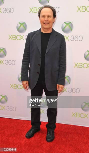 Billy Crystal attends the world premiere of Kinect for Xbox 360 in LA where Cirque du Soleil performed an exclusive show at Galen Center on June 13...