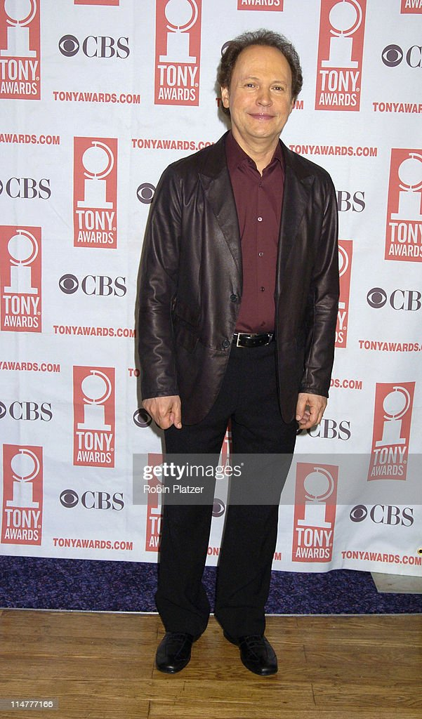 <a gi-track='captionPersonalityLinkClicked' href=/galleries/search?phrase=Billy+Crystal&family=editorial&specificpeople=202497 ng-click='$event.stopPropagation()'>Billy Crystal</a> during 59th Annual Tony Awards Nomination Press Conference at Marriott Marquis in New York City, New York, United States.