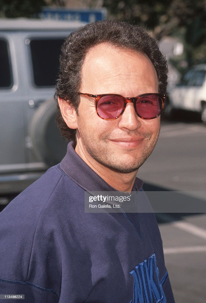 Billy Crystal during Hollywood All-Star Game at Dodger Stadium in Los Angeles, California, United States.