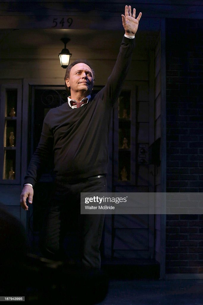 Billy Crystal during the Broadway Opening Night Performance Curtain Call for 'Billy Crystal - 700 Sundays' at the Imperial Theatre on November 13, 2013 in New York City.