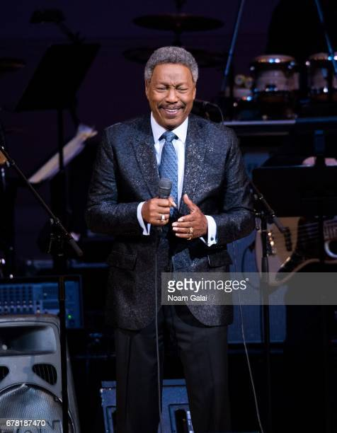 Billy Davis Jr performs during a tribute concert honoring Jimmy Webb at Carnegie Hall on May 3 2017 in New York City