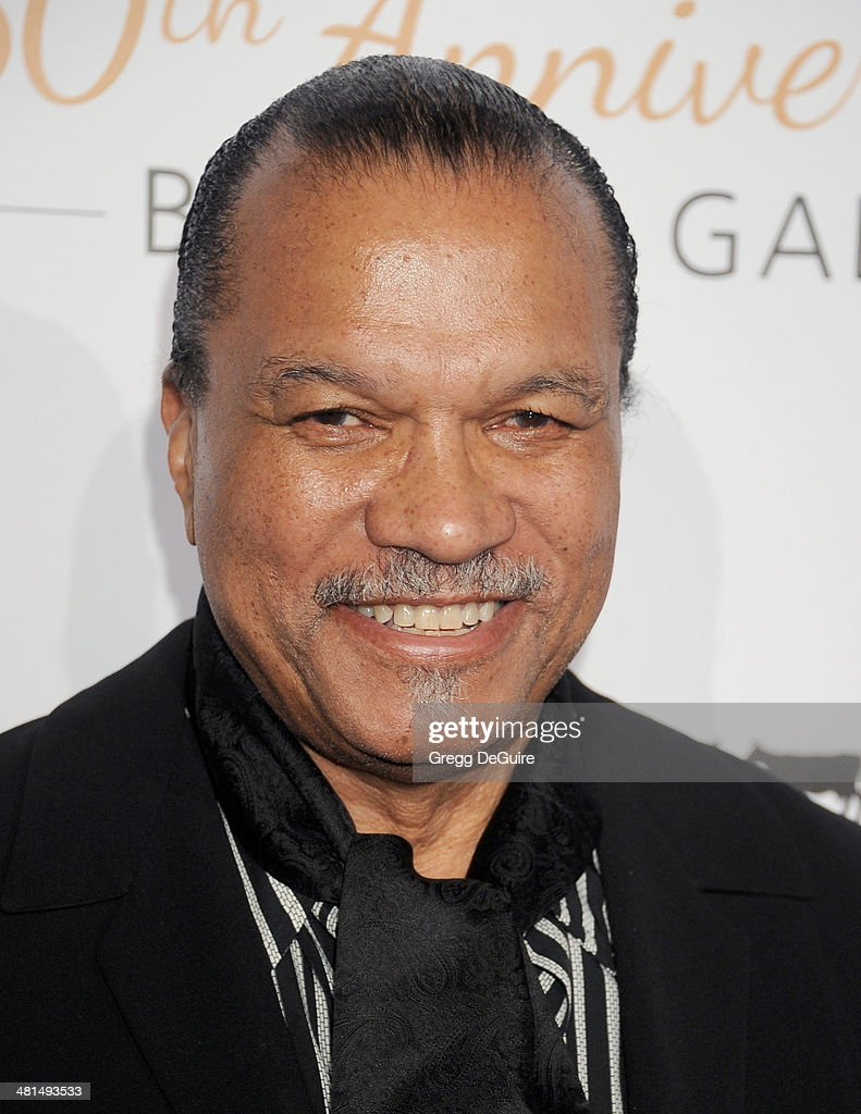 Billy Dee Williams arrives at The Humane Society Of The United States 60th anniversary benefit gala at The Beverly Hilton Hotel on March 29 2014 in...