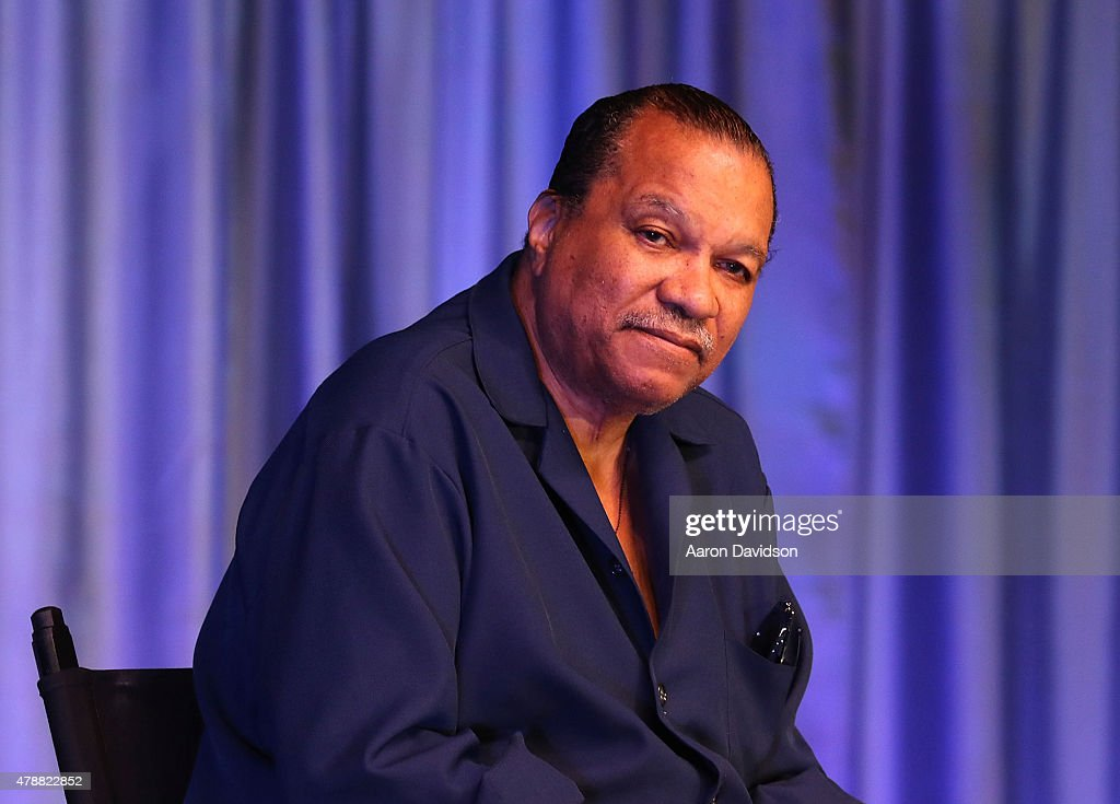 Billy Dee Williams attends Florida Supercon at the Miami Beach Convention Center on June 27 2015 in Miami Beach Florida