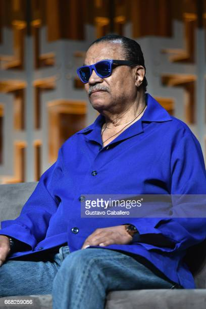 Billy Dee Williams attends the Star Wars Celebration Day 1 on April 13 2017 in Orlando Florida