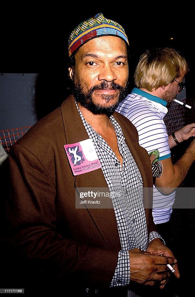 Billy Dee Williams during 1988 Amnesty Concert in Los Angeles California United States