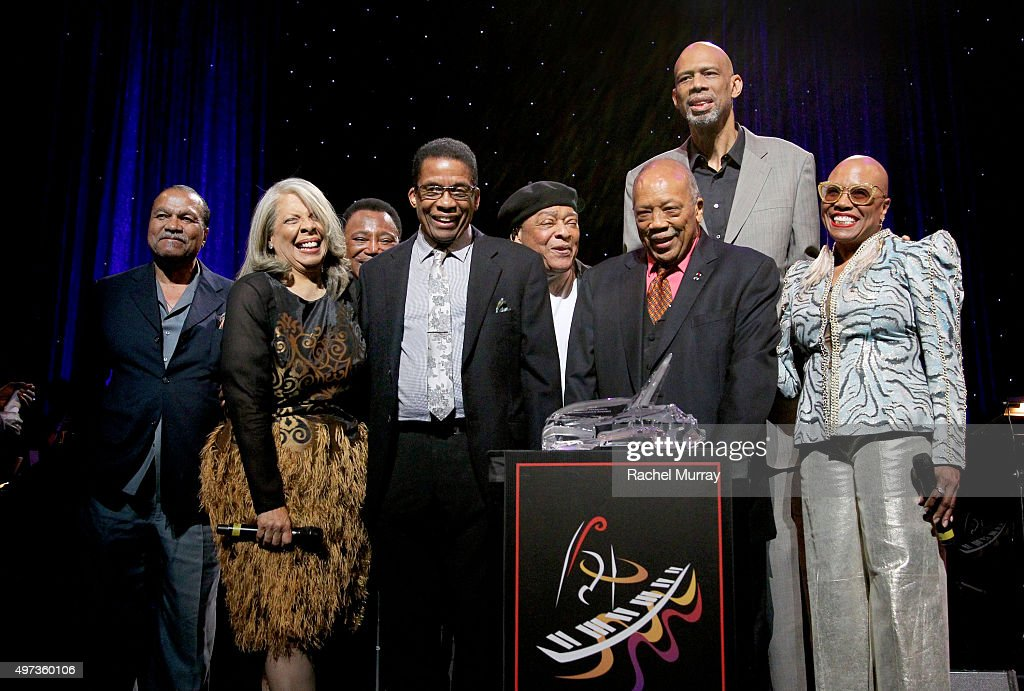 Billy Dee Williams Patti Austin George Benson Herbie Hancock Al Jarreau Herbie Hancock Humanitarian Award reciepient Quincy Jones Kareem AbdulJabbar...