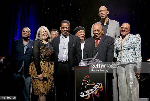 Billy Dee Williams Patti Austin George Benson Herbie Hancock Al Jarreau Herbie Hancock Humanitarian Award reciepient Quincy Jones Kareem AbdulJabbar...