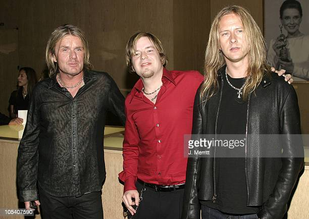 Billy Duffy Jimmy Allen and Jerry Cantrell during The 21st Annual ASCAP Pop Music Awards at Beverly Hills Hilton in Beverly Hills California United...