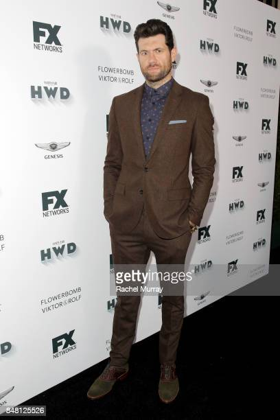 Billy Eichner attends FX Networks celebration of their Emmy nominees in partnership with Vanity Fair at Craft on September 16 2017 in Century City...