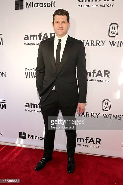 Billy Eichner attends the 2015 amfAR Inspiration Gala New York at Spring Studios on June 16 2015 in New York City